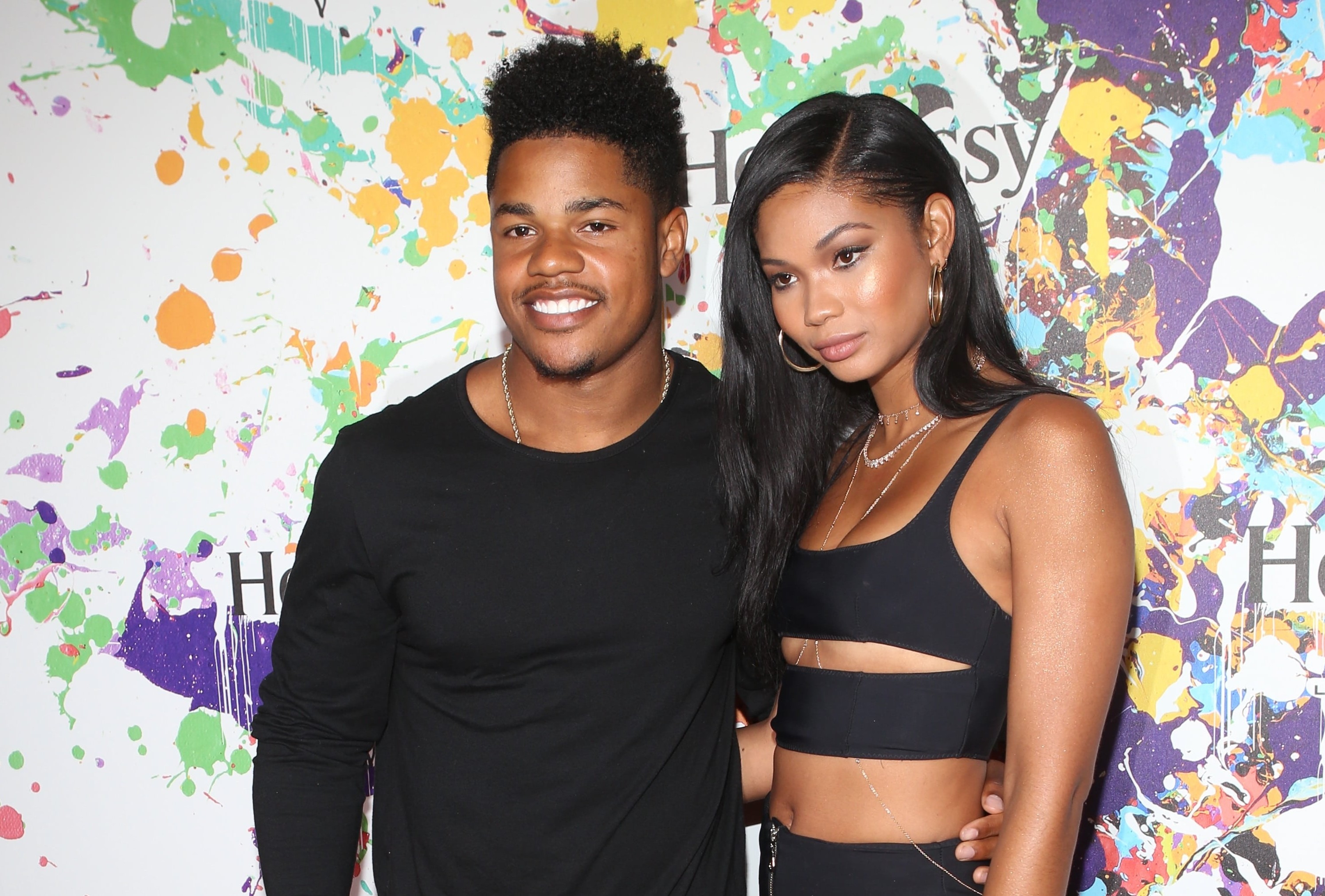 Chanel Iman and Sterling Shepard are now husband and wife. (Photo: Instagram)