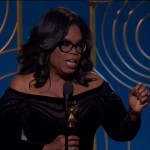 The calls for Oprah Winfrey to run for president reached a fever pitch following her powerful speech she delivered at this year's Golden Globes. (Photo: WENN)