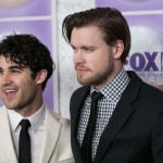 He continues to be really good friends with his former Glee co-star Darren Criss! (Photo: WENN)