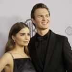 Sorry ladies, he has a girlfriend. Ansel's dating dancer Violetta Komyshan! The pair are high school sweethearts! Aw! (Photo: WENN)