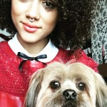 """She has a puppy, or a """"dogchild"""" as she calls him, named Drake. (Photo: Instagram)"""