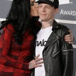 In December 2012 she got engaged to Joel Zimmerman, a.k.a. Deadmau5, when he proposed to her over Twitter, after having brake up a month earlier. She accepted via tweet as well. They split in June 2013. (Photo: WENN)