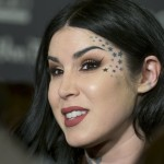 Celebrating Kat's 36th birthday, here are 15 lesser known facts about the badass beauty star that are as cool as her tattoos (and her makeup!). (Photo: WENN)