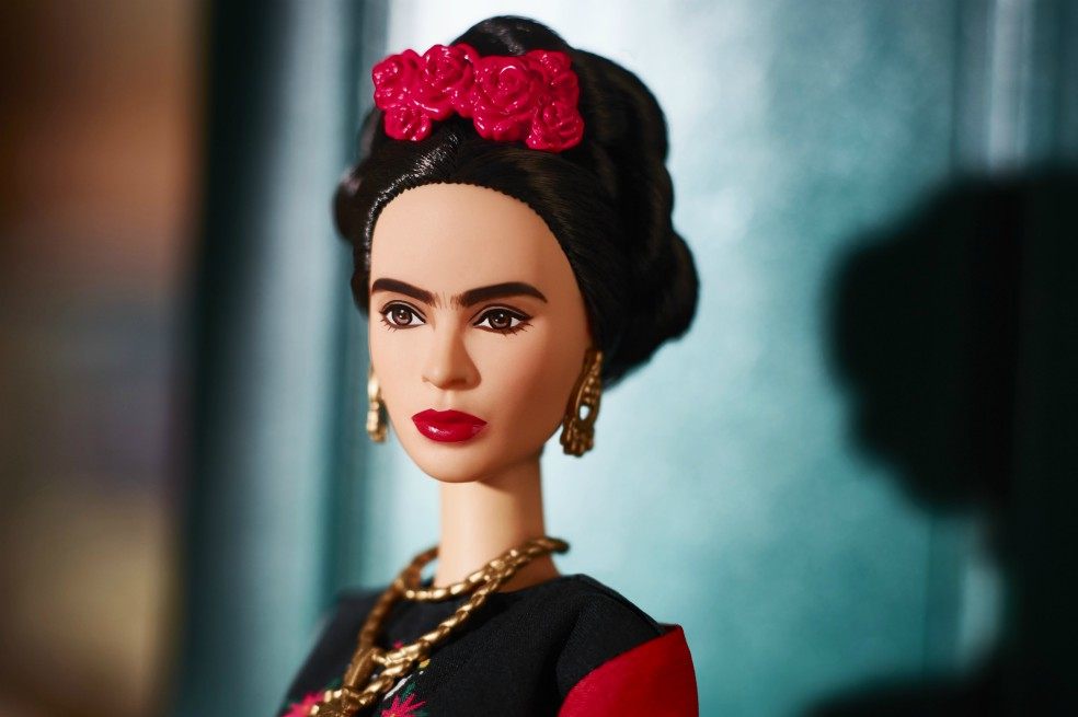 Click through our photo gallery and check out some of the reactions to Barbie's misinterpretation of Frida Kahlo's appearance—and entire persona, for that matter! (Photo: Release)