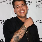 Rob Kardashian—not the lawyer, but the reality TV star, socks mogul, and birthday boy who is turning 31 today. (Photo: WENN)