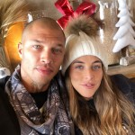 Jeremy Meeks is expecting a son with the British heiress Chloe Green. (Photo: Instagram)
