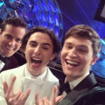 Armie Hammer, Timothée Chalamet, and Ansel Ergot in the same picture? Yes, please! (Photo: Instagram)