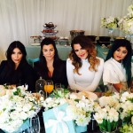 """Headed for a queen, Kourtney Kardashian threw an elaborated """"Breakfast at Tiffany's"""" themed shower to celebrate her son Reign. (Photo: Instagram)"""