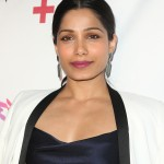 Who wants to be a millionaire? More like who wants to have Freida Pinto's beautiful eyes! (Photo: WENN)