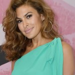 Eva Mendes' smile is attractive—but the mole above her lip make it even more beautiful! (Photo: WENN)