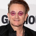 In 2014, U2's Bono revelead he has suffered from glaucoma for around two decades, prompting the ever-present dark glasses. (Photo: WENN)