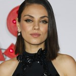 Look into Mila Kunis' big hazel eyes and you'll understand why Ashton Kutcher was ready to settle down! (Photo: WENN)
