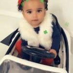 Rob Kardashian celebrated both his 31st birthday and St. Patrick's Day. With this cute clover sprinkled picture of beautiful Dream. (Photo: Instagram)