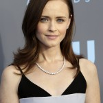 The one thing we loved more than a good cup of coffee in Gilmore Girls were Alexis Bledel eyes! (Photo: WENN)