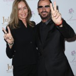 Ringo Starr attended the ceremony accompanied by his wife, Barbara Bach. (Photo: WENN)