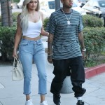 Ok—Kylie is now with Travis and have a daughter together. But before that keeping up with Jenner and Tyga's relationship proved to be a difficult task! They broke up and got back together more times that we can count. (Photo: WENN)