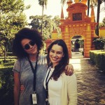 Just as seen on TV, Nathalie Emmanuel and Emilia Clarke are really good friends in real life! (Photo: Instagram)