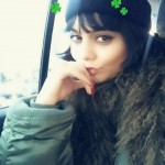 Vanessa Hudgens joined the St. Patty's celebrations with this Instagram sprinkled with four-leaf clovers. (Photo: Instagram)