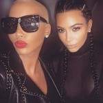 In 2016, Kim and Amber tried to iron out rough edges by sharing a photo together on their social media. (Photo: Instagram)