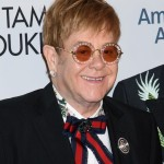 It's hard to think of Elton John without some kind of sunglasses either in or out of public. Sunnies are just a part of him! (Photo: WENN)