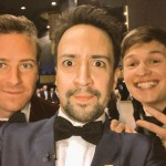 Turns out Armie Hammer and Ansel Ergot are a few of Lin Manuel Miranda's favorite things. (Photo: Instagram)