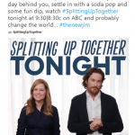 "Oliver Hudson, Jenna Fischer's co-star in the new sit-com ""Splitting Up Together"", called himself #TheNewJim, and the internet has mixed feelings. (Photo: Twitter)"