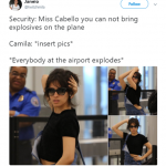 No explosives needed. Her poses blew our minds. (Photo: Twitter)