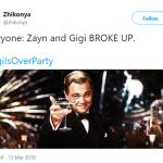 #ZiglisOverParty (Photo: Twitter)