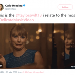 Most relatable Taylor Swift moment in history. (Photo: Twitter)