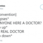 Not real doctors, though… (Photo: Twitter)