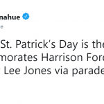 If you thought St. Patrick celebrated the foremost patron saint of Ireland—think again. (Photo: Twitter)