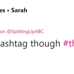 I mean—the hashtag alone makes me want to watch it! I'm curious. (Photo: Twitter)