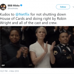 Frank or no Frank, we applaud Netflix for taking a risk and doing the right thing! (Photo: Twitter)