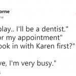 Go get an appointment. (Photo: Twitter)