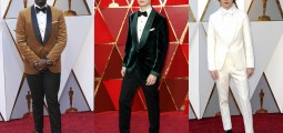 A Great Night For Suits: Best Dressed Male Celebrities At The 2018 Oscars Red Carpet
