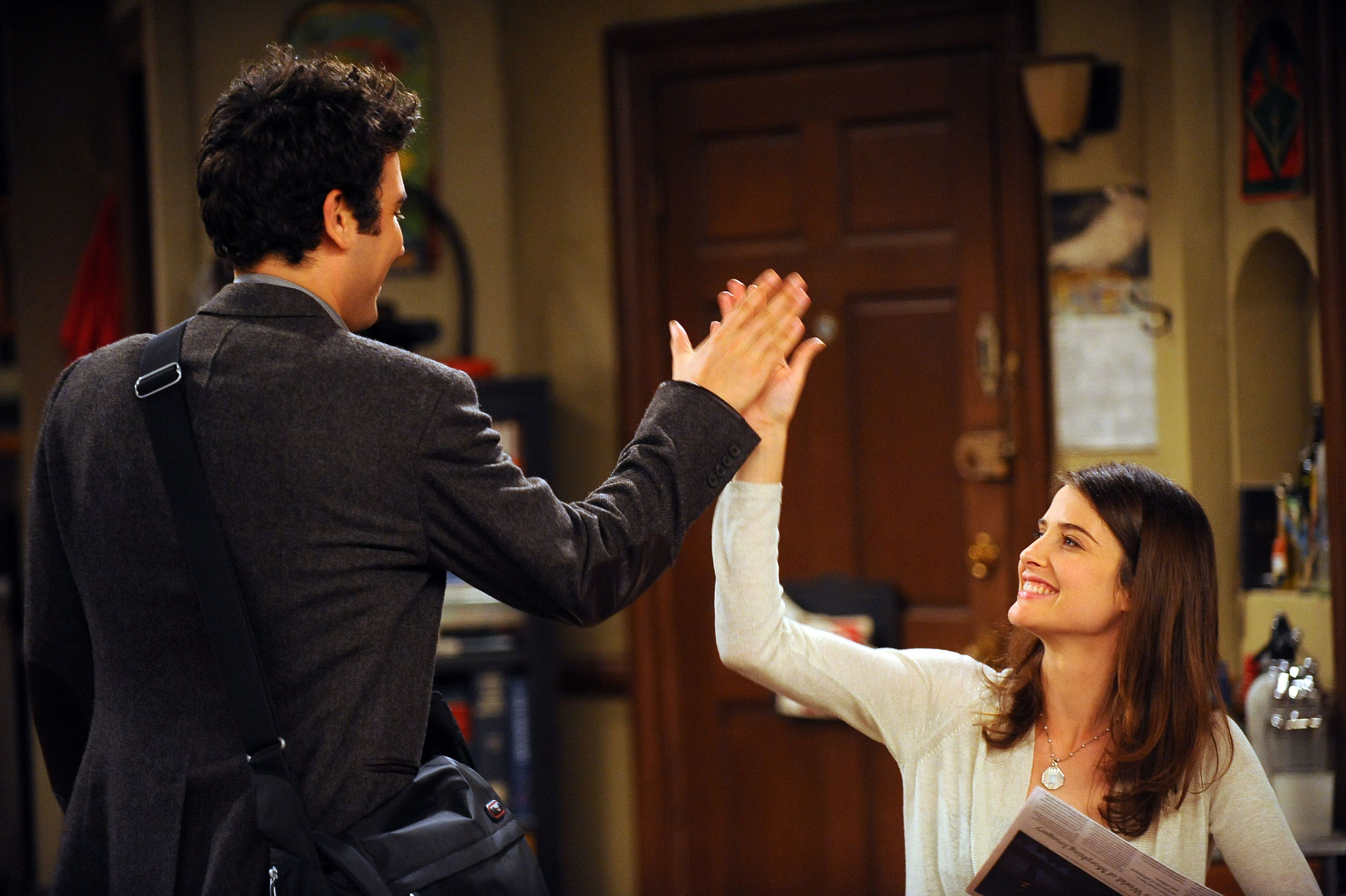 Celebrating National High Five day here's a full list of the best on-screen hand slaps in TV and movie history. (Photo: Release)