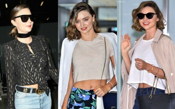 Miranda Kerr's Street Style Is Just As Good As If She Had Stepped Down Directly From The Runway