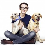 """Isaac is the proud dad of two dogs. """"My pets have been a huge part of my upbringing. The two energetic balls of […] have felt like the siblings I never had as an only child."""" (Photo: Instagram)"""