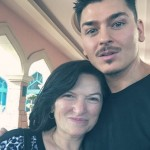 """Mario's mom wasn't really happy about him working as a MUA at first. """"Nothing impressed her,"""" not even when he got his first ad campaign. Now, his mother often comes to his Master Classes to help! (Photo: Instagram)"""