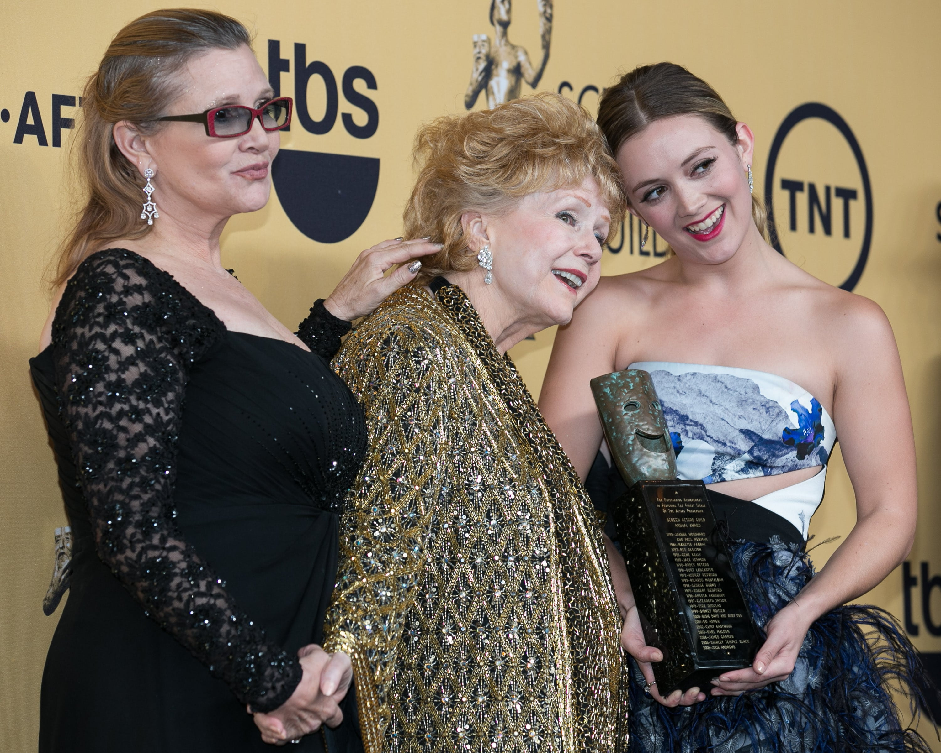 Billie Lourd honored her grandmother Debbie Reynolds on what would have been her 86th birthday. (Photo: WENN)