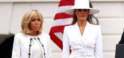 Melania Trump's White Hat Has Caused Quite A Fuss On Twitter