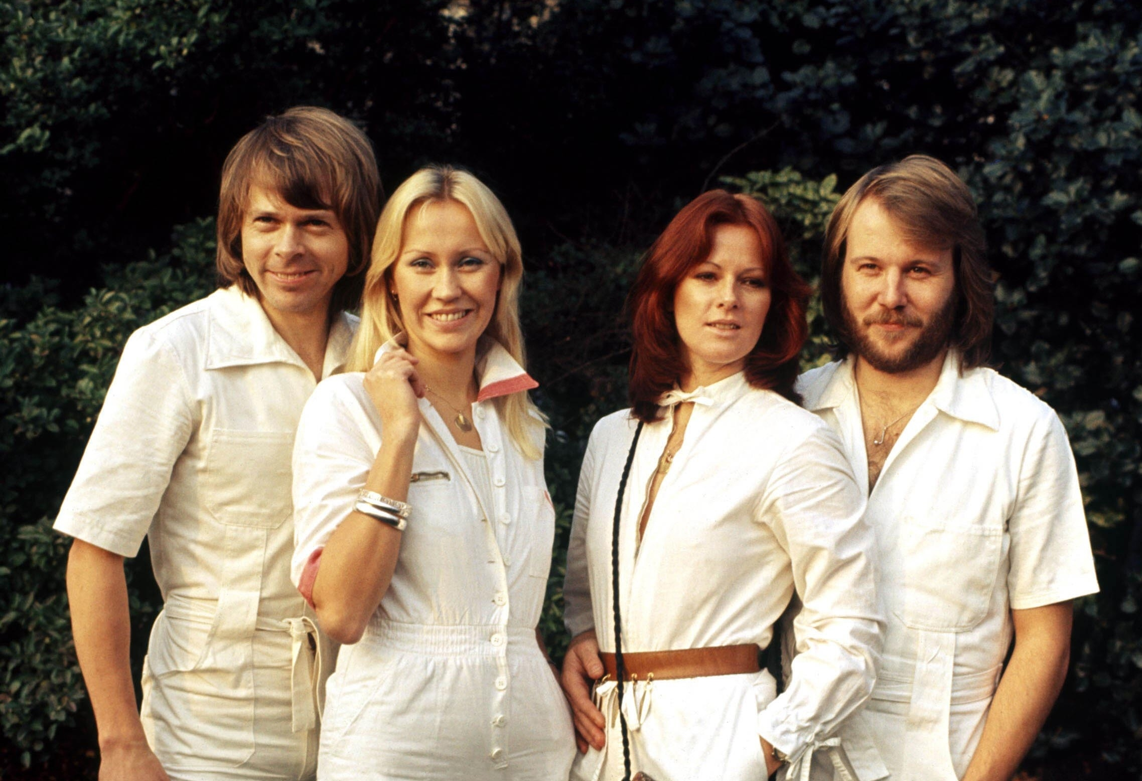 There's a sense of expectation hangin' in the Twitter air for this ABBA comeback. Click through to see some of the best reactions! (Photo: WENN)