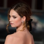In celebration of her birthday, get to know more about your new girl-crush Lily James in our photo gallery! (Photo: WENN)