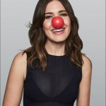 Because Mandy's heart is in the right place. She's an ambassador for the Red Nose organization, helping children in poverty. (Photo: Instagram)