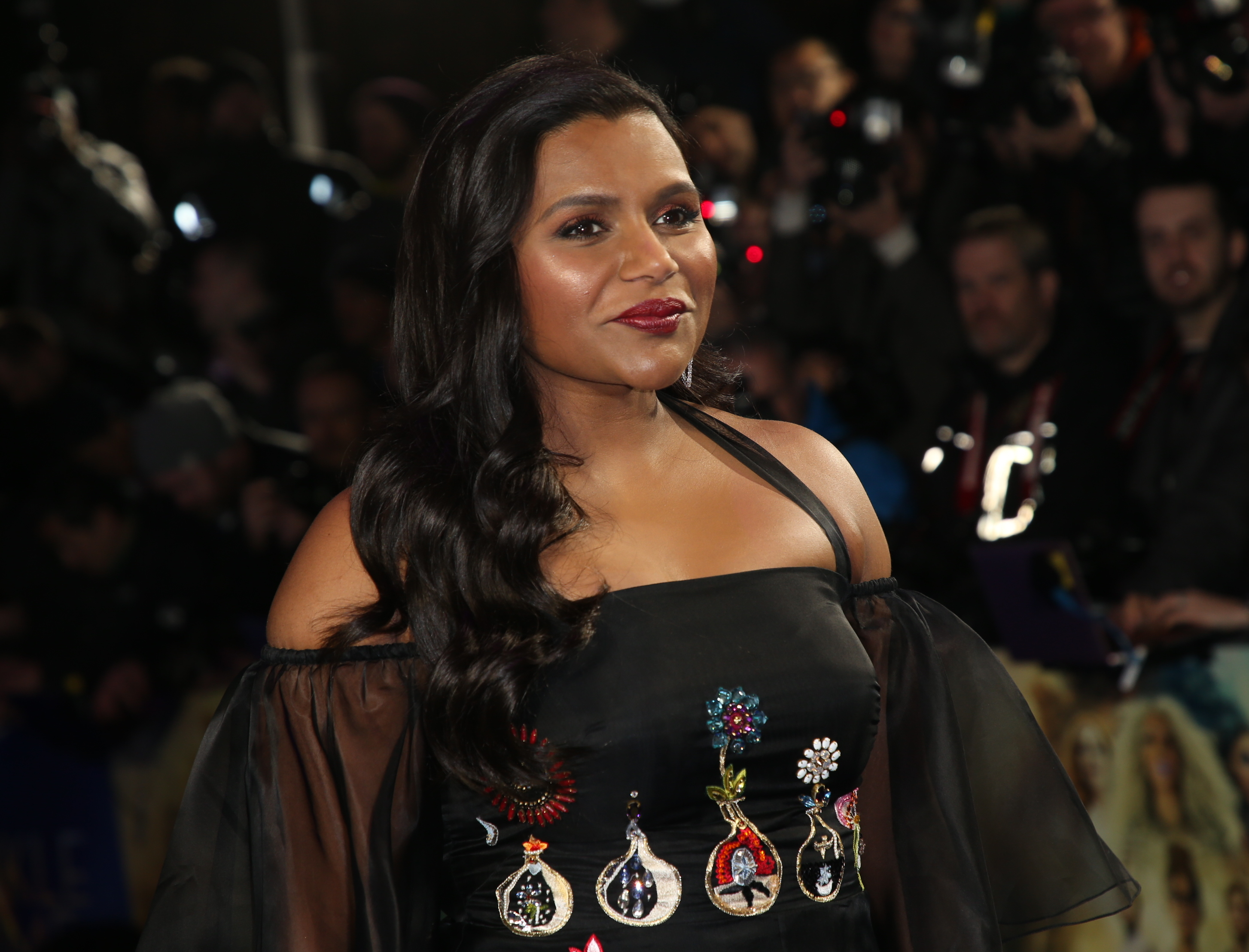 Mindy Kaling had the perfect answer for those who turned her into a meme. (Photo: WENN)