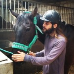 Jared Leto got some one-on-one time with this horse. I know—we all wish we were that horse. (Photo: Instagram)