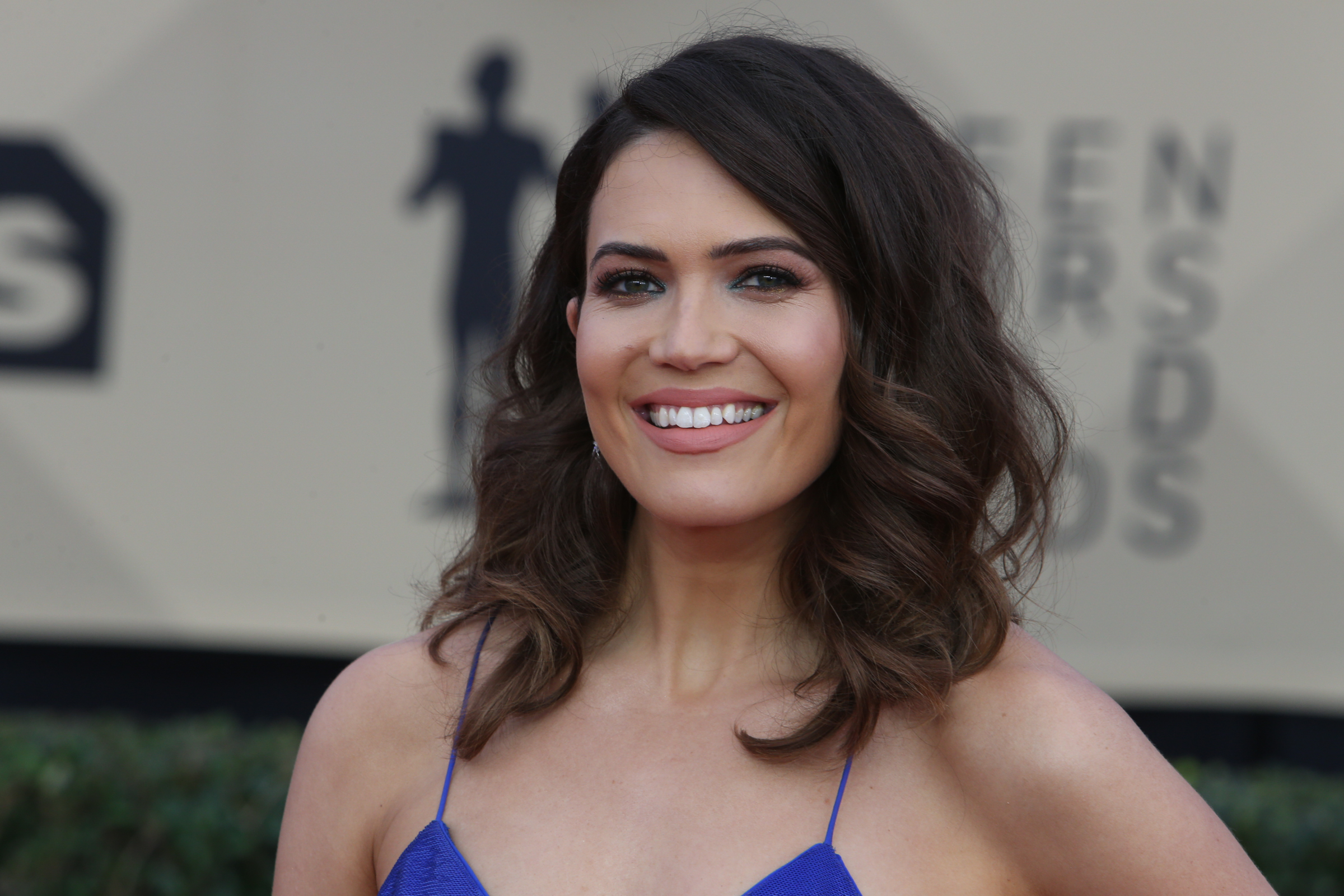 Celebrating a personal milestone in Mandy Moore's life—turning 34!—here are 15 reasons why we are unconditionally and irrevocably in love with the beautiful and talented Mandy Moore. (Photo: WENN)