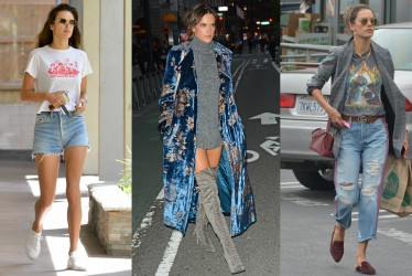 Our 10 Favorite Street Looks By Catwalk Queen Alessandra Ambrosio