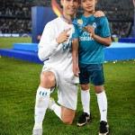 Bring your kid to work for Cristiano Ronaldo means bring your kid to the finale of the UEFA Champions League. Of course, he had to win—Jr. was watching! (Photo: Instagram)