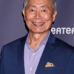 Helsman of the USS Enterprise, Hikaru Sulu, LGBT ally, and big anti-Trump activist. What's not to love about Star Trek's George Takei? (Photo: WENN)